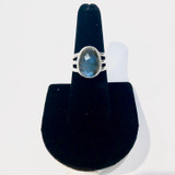 Triple Band Labradorite Ring