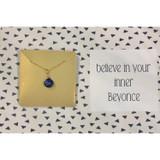 Inner Beyonce Gemstone necklace