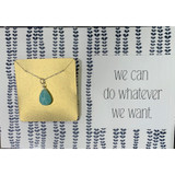 Do What We Want Gemstone Necklace