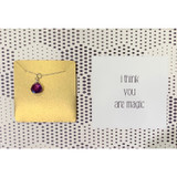 You Are Magic Gemstone Necklace