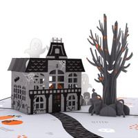 Pop-Up Card, Haunted House
