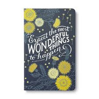 Write Now Journal, Expect the Most Wonderful Things