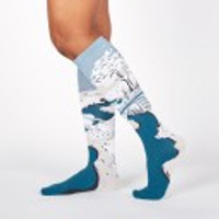 Women's Knee High Socks, Meguro Drum Bridge