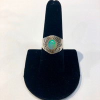 Detailed Opal Cuff Ring