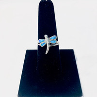 Dragonfly Opal Ring