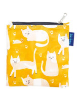 Cats Yellow Reusable Shopping Tote