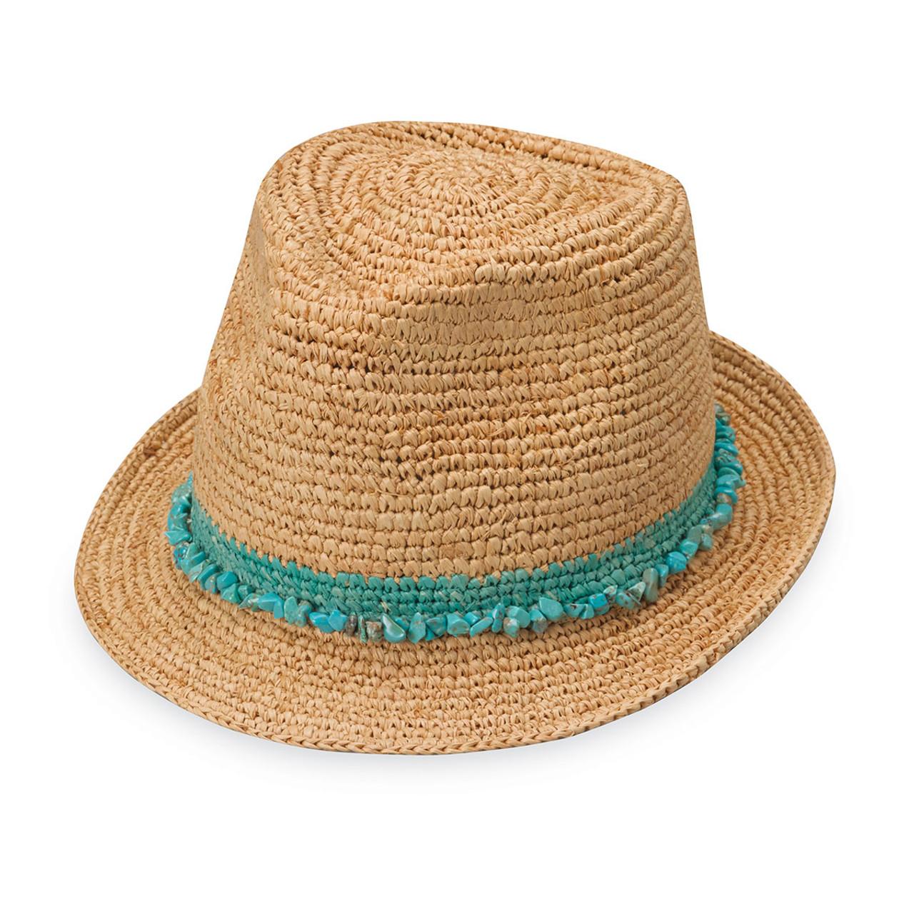 3a62ce557dffa Womens Wallaroo Tahiti Hat turquoise