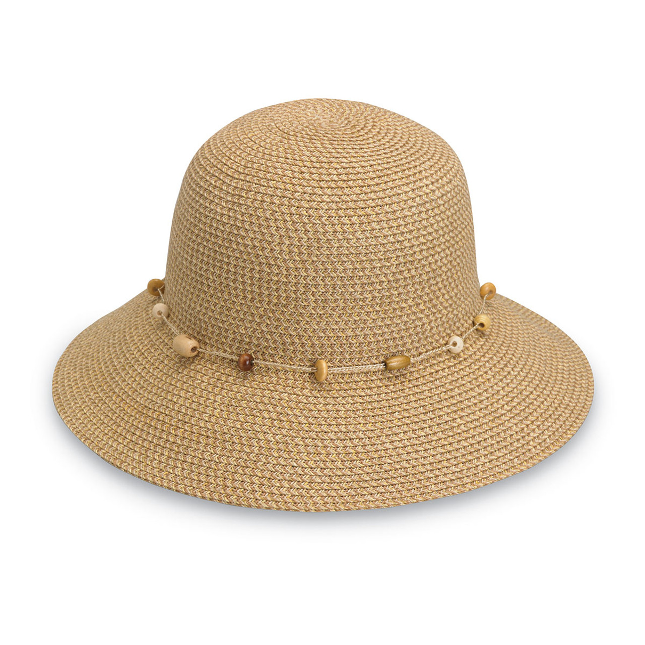 Womens Wallaroo Naomi Sun Hat UPF50+ natural 31919d5e627