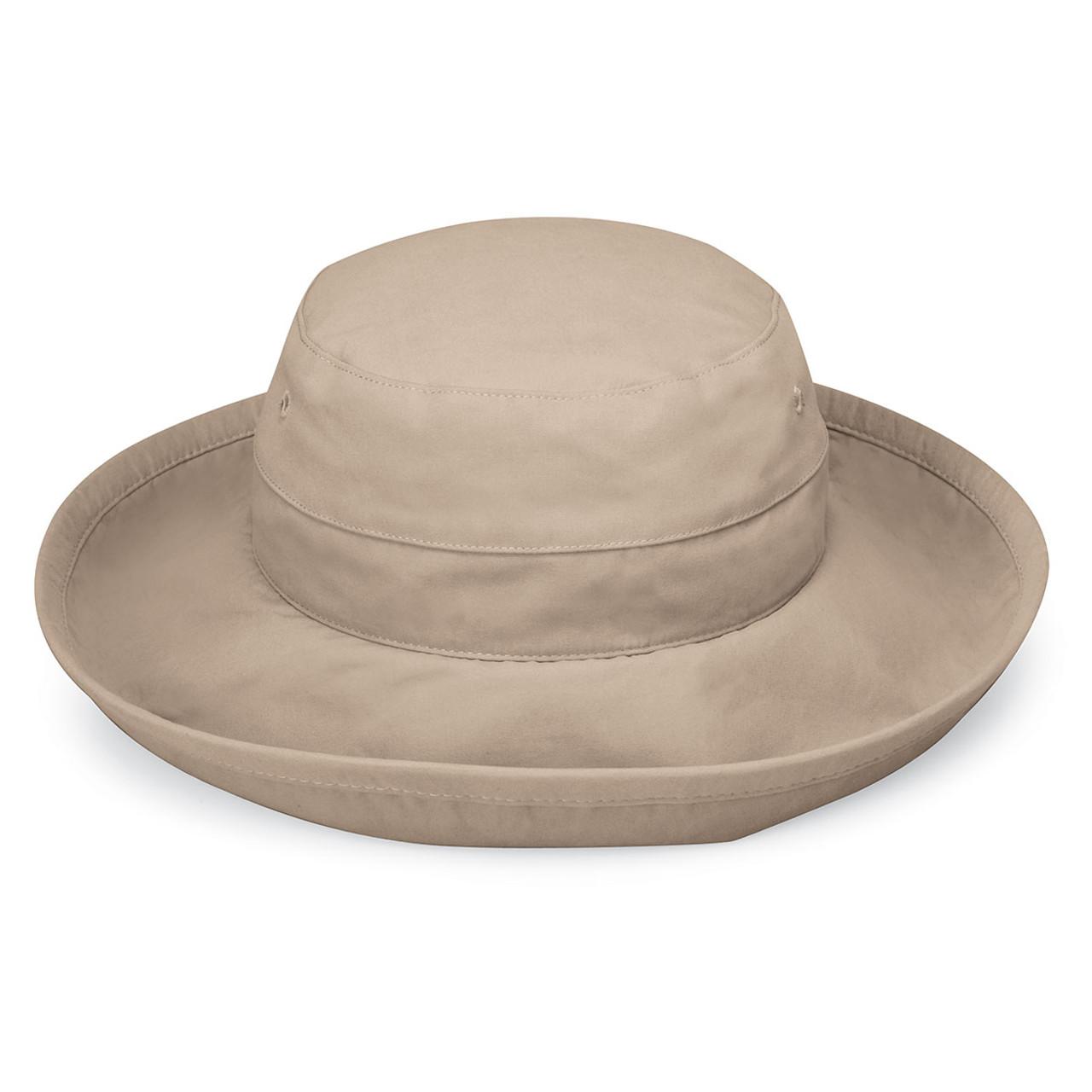 c54f0c6eb7b Womens Wallaroo Casual Traveler UPF50+ sun hat camel
