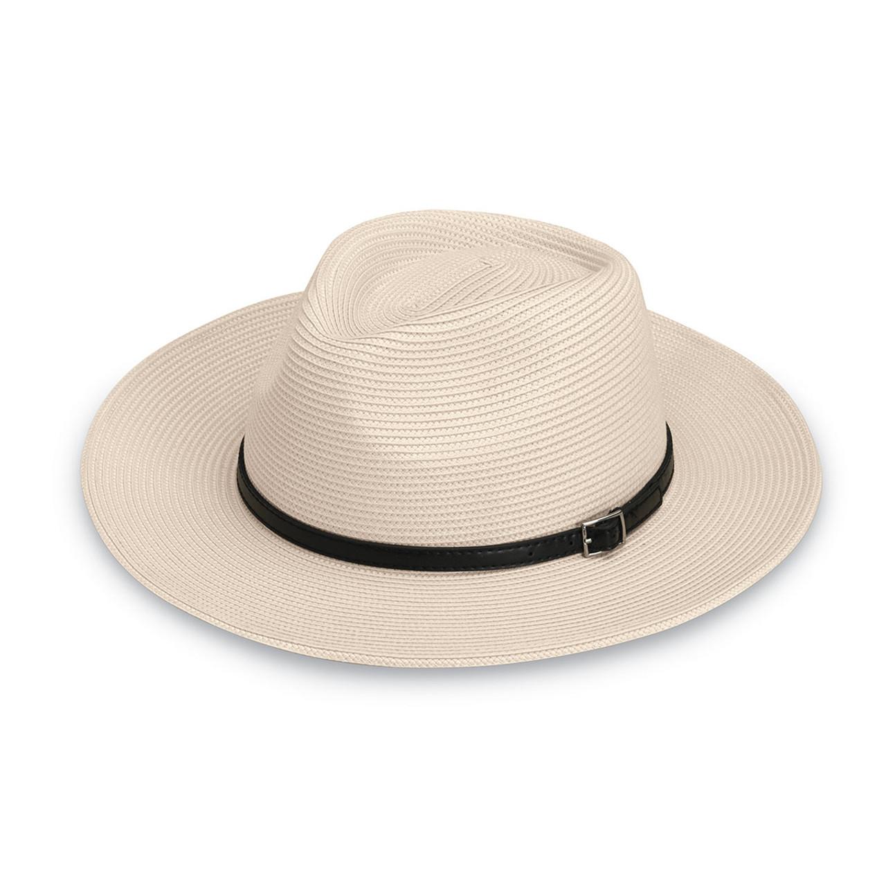 35b1a06084e210 Mens Wallaroo UPF50+ cameron sun hat ivory