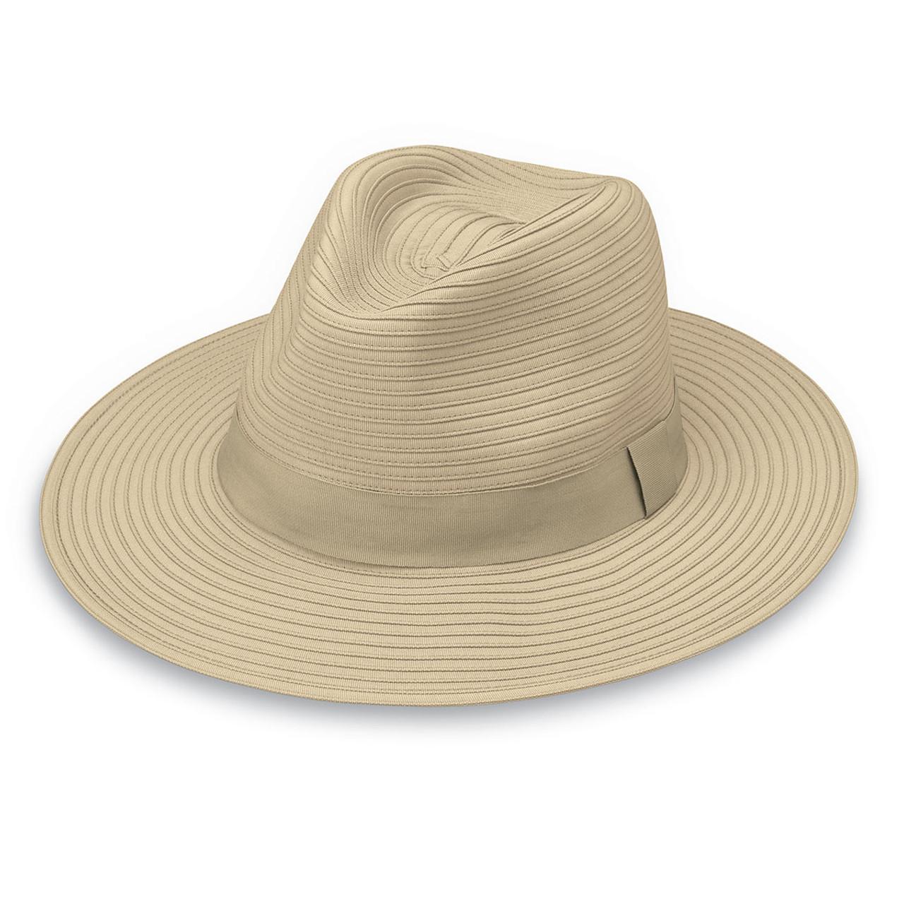 24a86569 Wallaroo Mens Hamilton UPF50+ Sun Hat beige