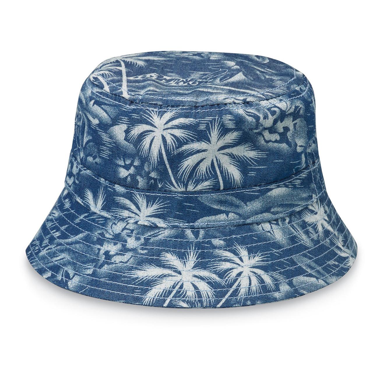 3225ecd0e69d6 Wallaroo baby aloha upf50 sun hat denim
