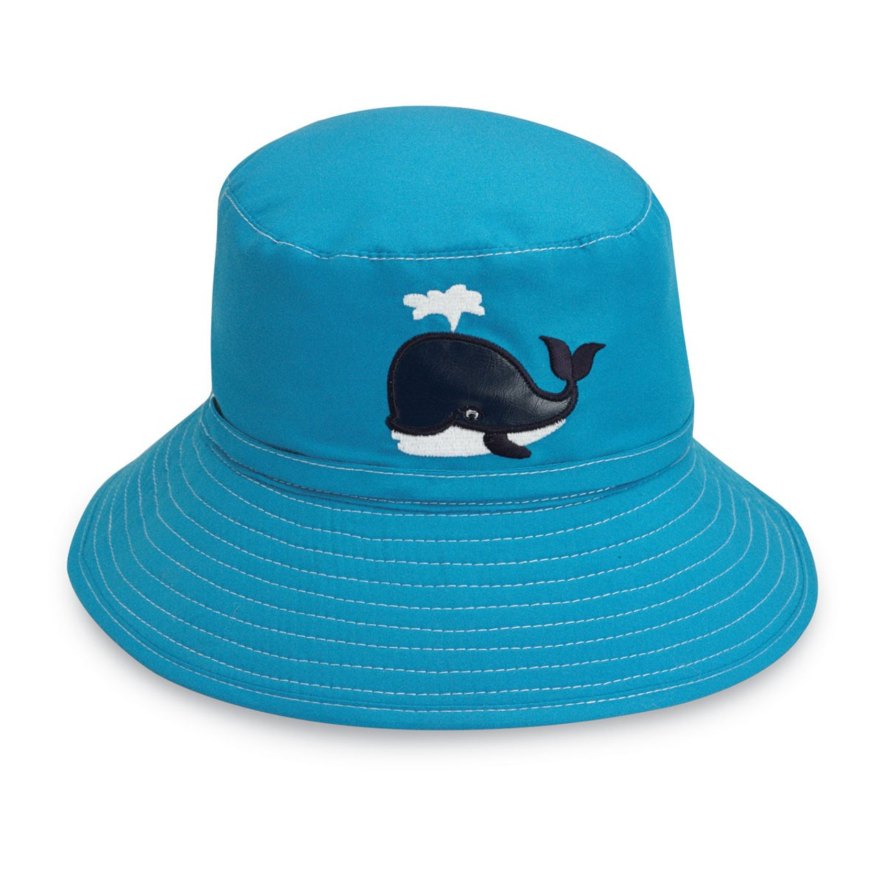 Childrens wallaroo UPF50+ whale uv sun hat f20cff4e9670