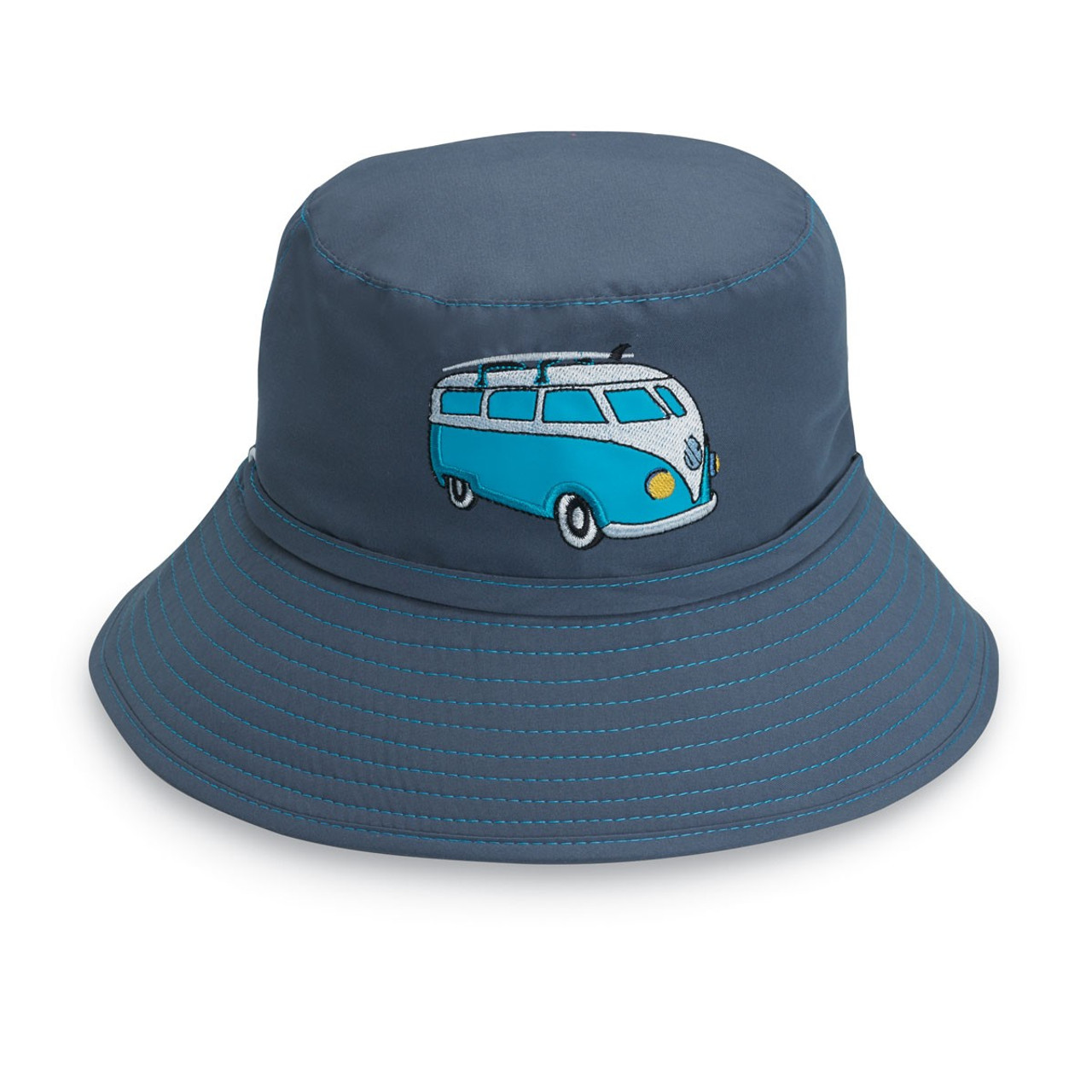 Children s Wallaroo Reversible Camper Van Sun Hat  ad44e683758c