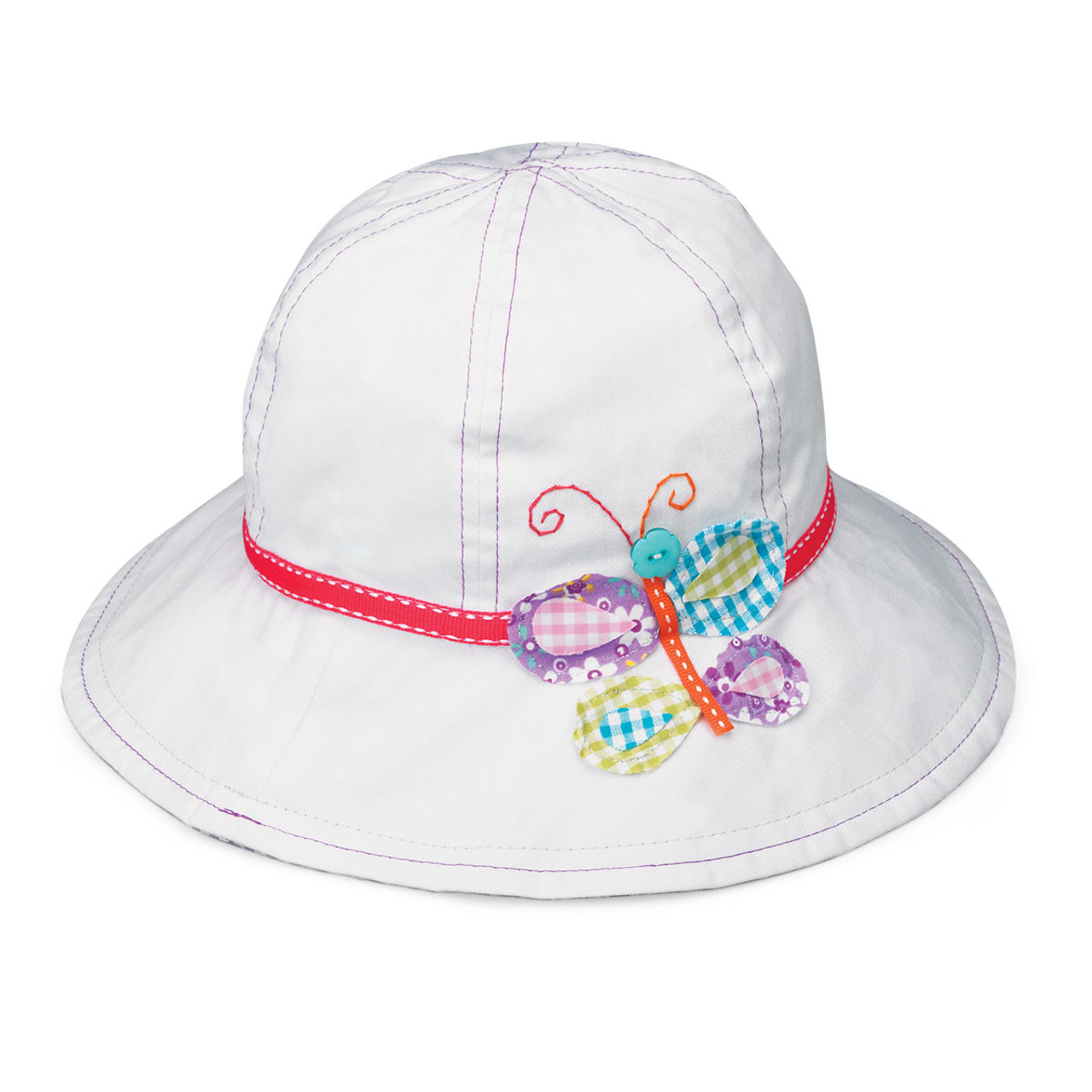 Kids Summer 100/% Cotton Sun Protection Adventure Togs Bucket Sun Hat with Chin Strap Baby