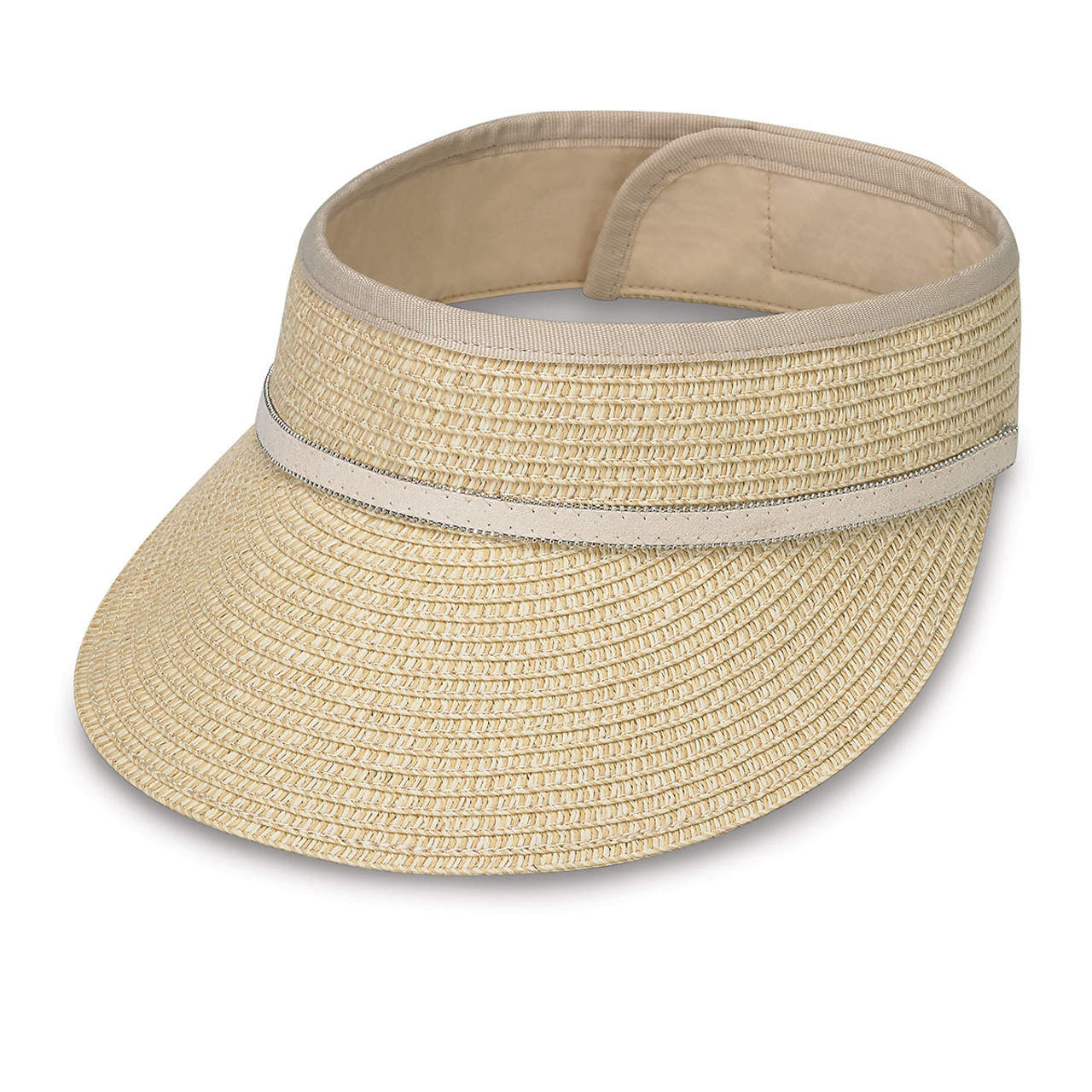 Womens wallaroo bianca cap sports visor natural a40f8c7d8f8