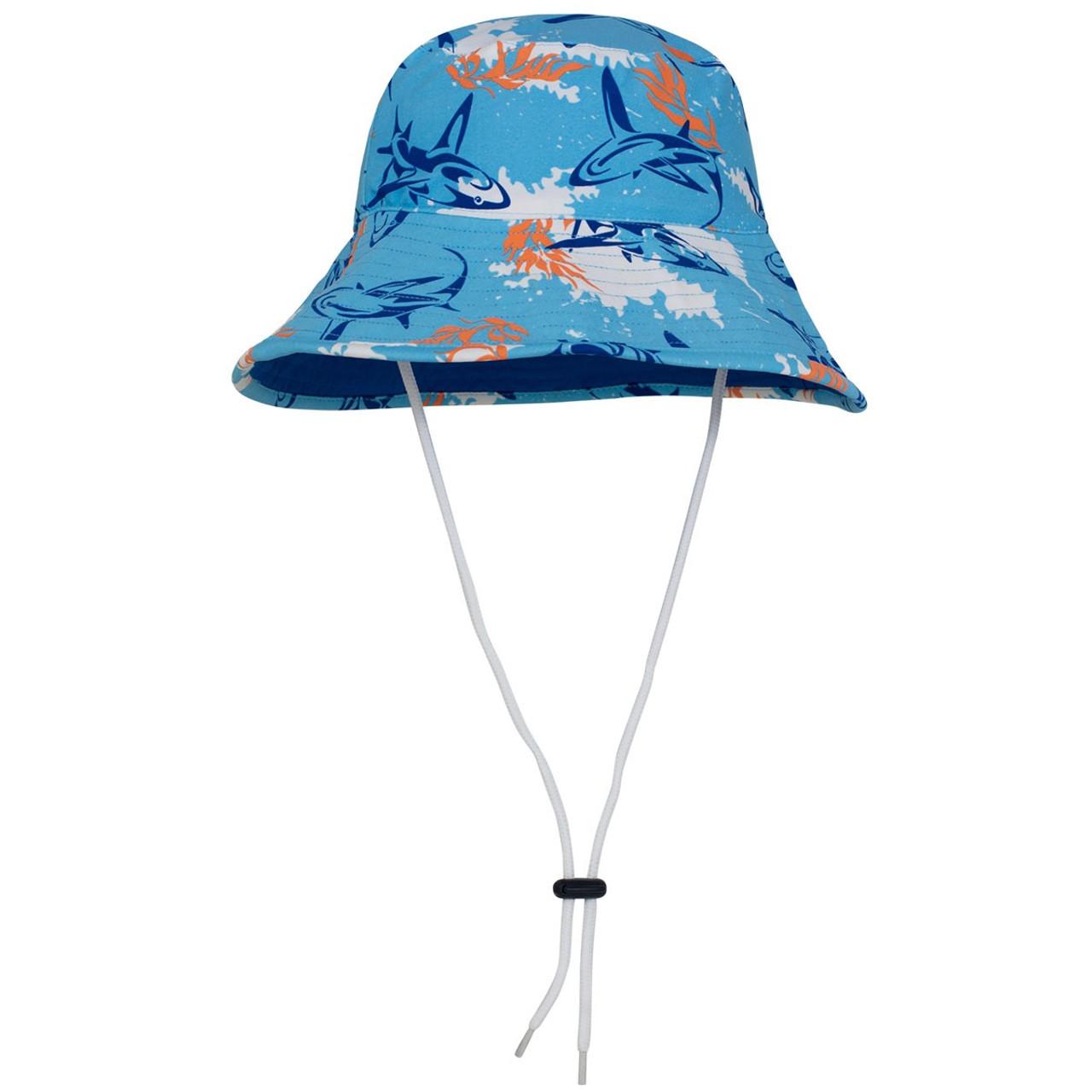 5b8d556318b52 Boys Tuga Reversible UV Bucket Hat Fuego