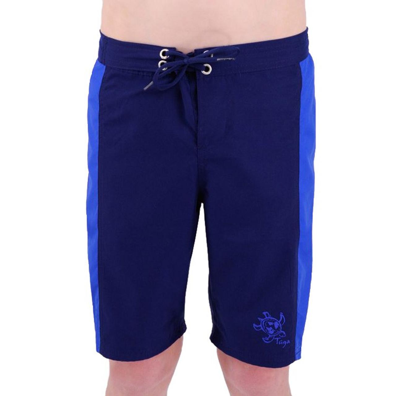 aad747eff2733 Boys Tuga UV Board Shorts Blue | Boys UV Clothing