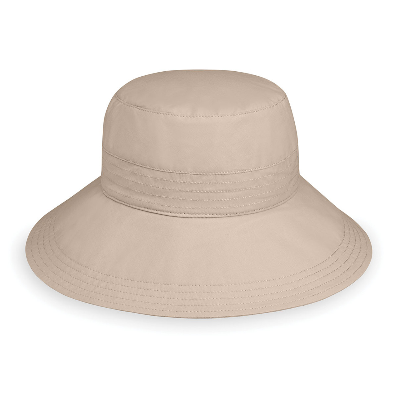 99801488e0a Womens Wallaroo Piper sun hat UPF50+ beige