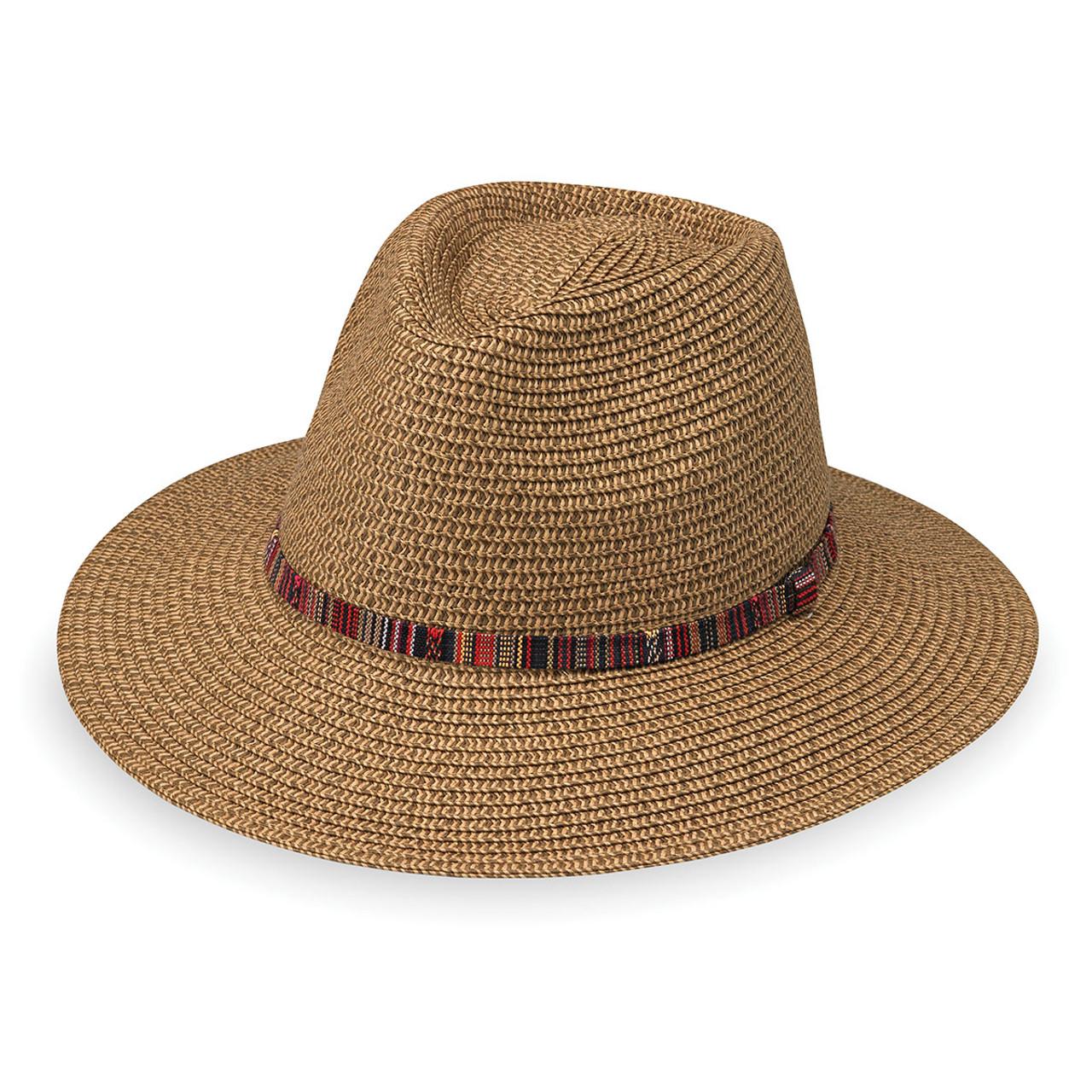 8232c46294d Womens Wallaroo Sedona Fedora UV Sun Hat