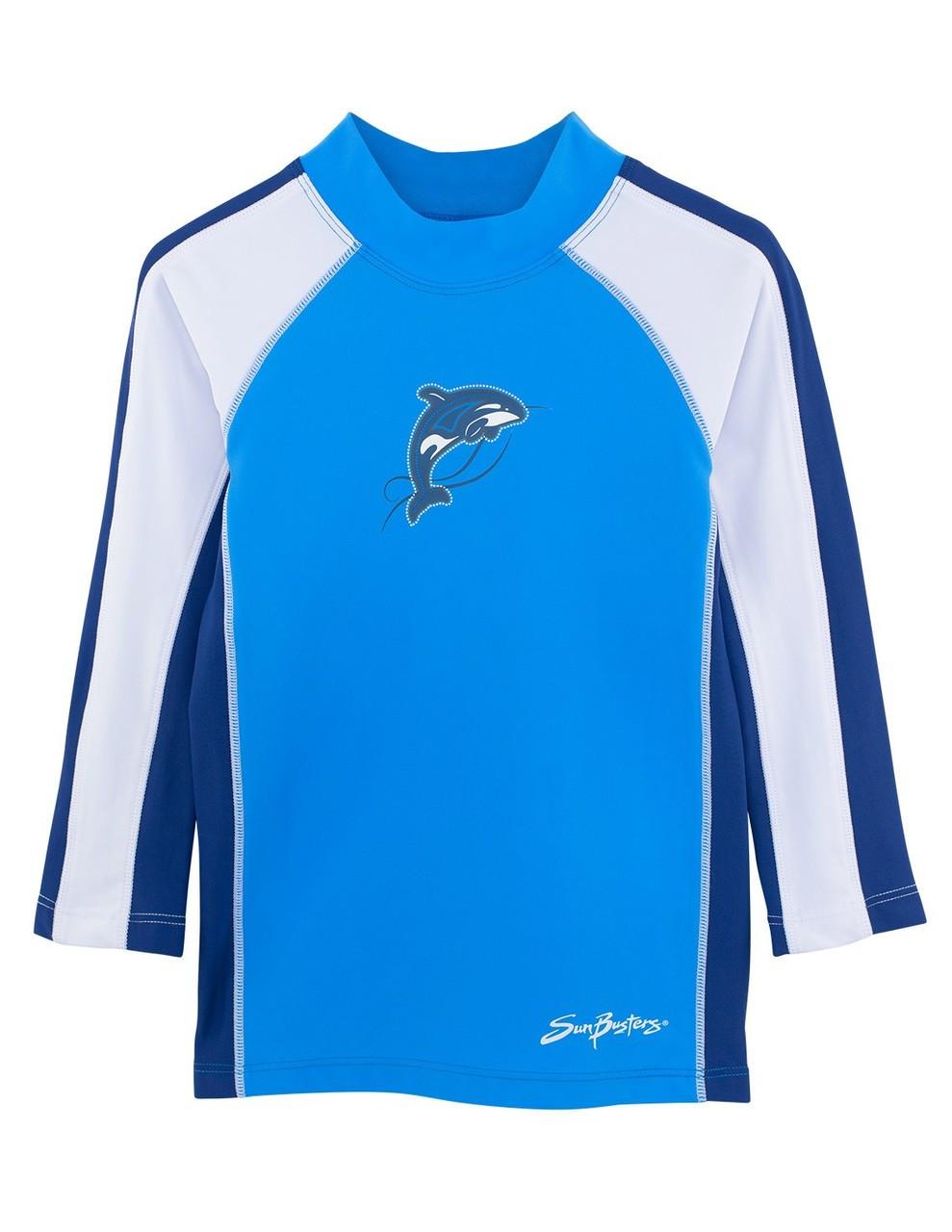 e9578f6823 Boys Sun Busters L/S Rashguard Swim Shirt Splash | Boys UV Clothing