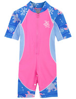 ef6a0757329 Sun busters girls uv low tide sun suit pink wave