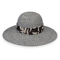 7a4601195e588 Womens Wallaroo Mia UPF50+ Sun hat black combo