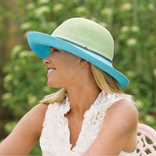 1dba804729d Wallaroo Women s Victoria Two-Tone UPF50 Sun Hat