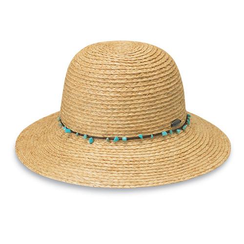 Wallaroo Blair Womens Sun Hat UPF50+ turquoise