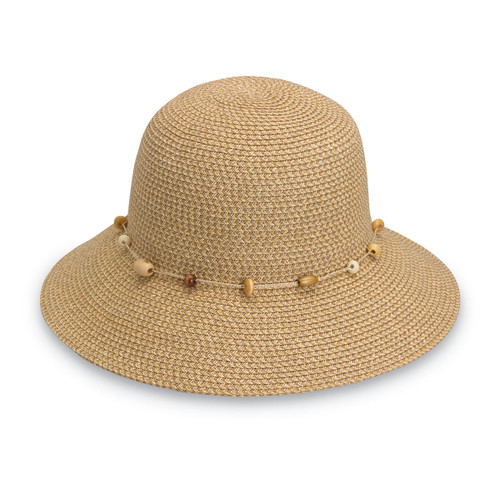 Womens Wallaroo Naomi Sun Hat UPF50+ natural