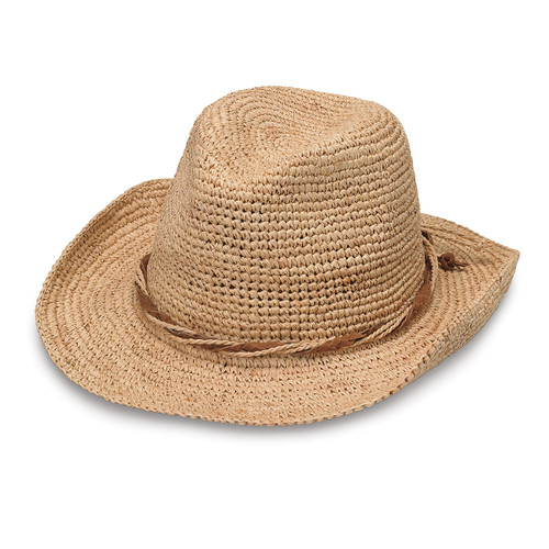 Wallaroo Women's Hailey cowboy hat natural