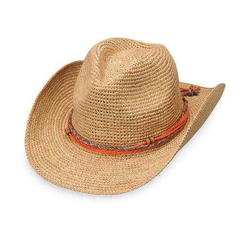 Women's Wallaroo Catalina cowboy hat natural