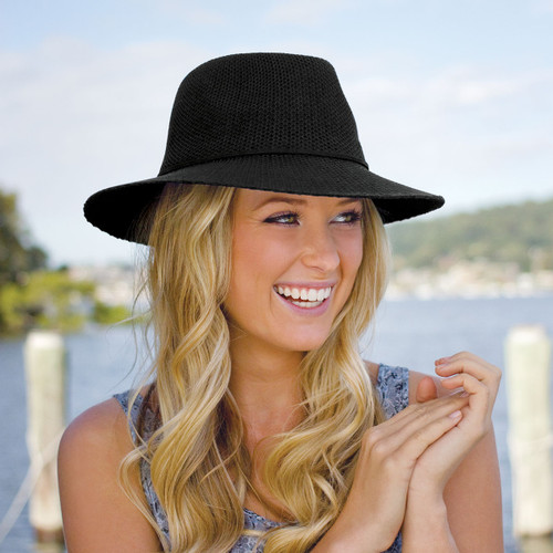 b7308cb6019 Women s Wallaroo Victoria Fedora UPF50+ Sun Hat