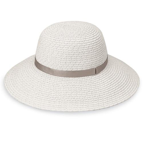 Womens wallaroo stella upf50+ sun hat silver