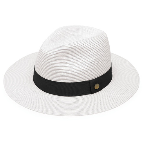 Womens Wallaroo Frankie UPF50+ Sun Hat white