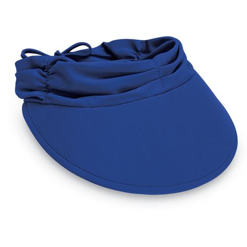 Womens wallaroo aqua visor cap royal blue