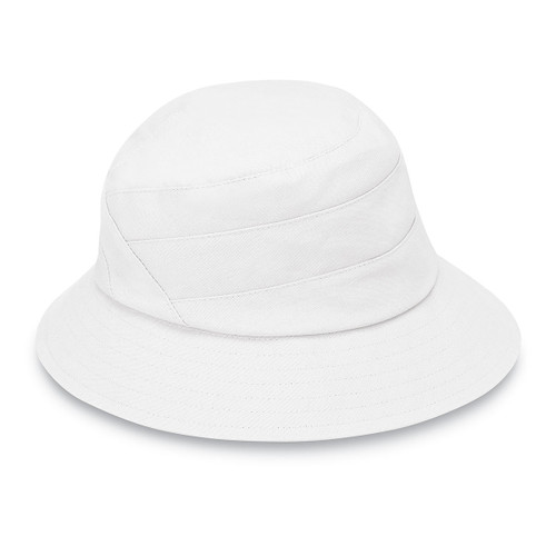 Womens Wallaroo Taylor UPF50+ golf hat white