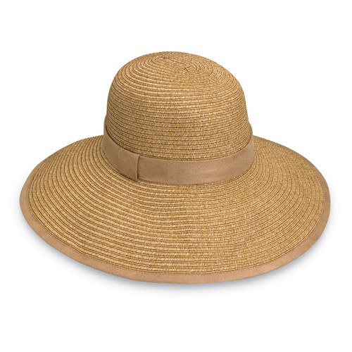 Womans Wallaroo UPF50+ Celeste sun hat natural