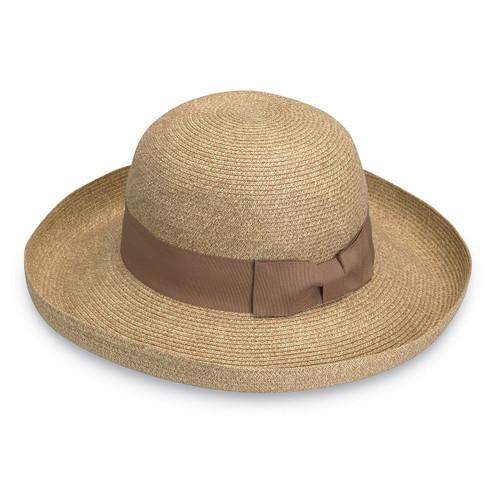 Womens Wallaroo Georgia UPF50+ Sun hat natural