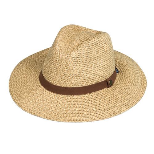 Mens Wallaoo Outback UV UPF50+ sun hat natural