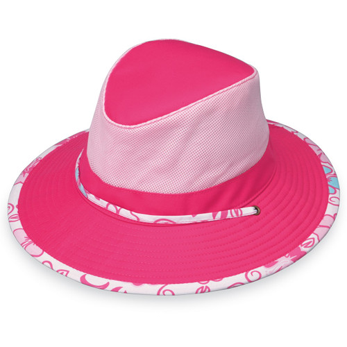 Wallaroo girls UPF50+ sun hat pink