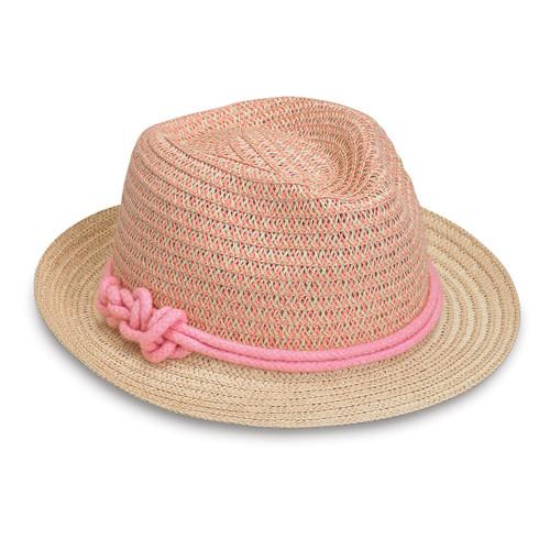Girls Wallaroo lulu sun hat pink