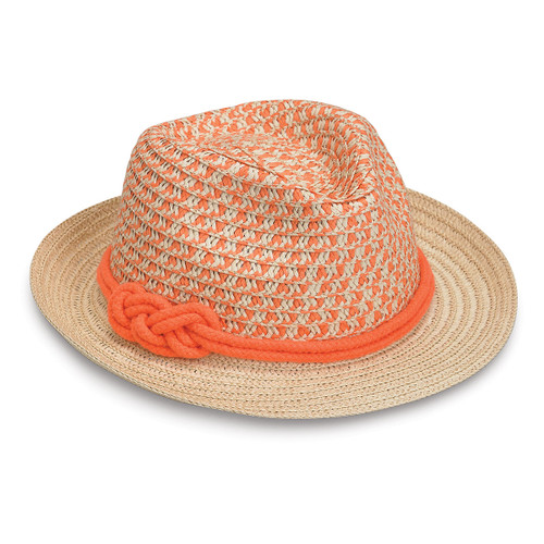 Girls Wallaroo lulu sun hat orange