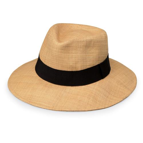 Womens Wallaroo morgan UPF50+ Sun hat natural