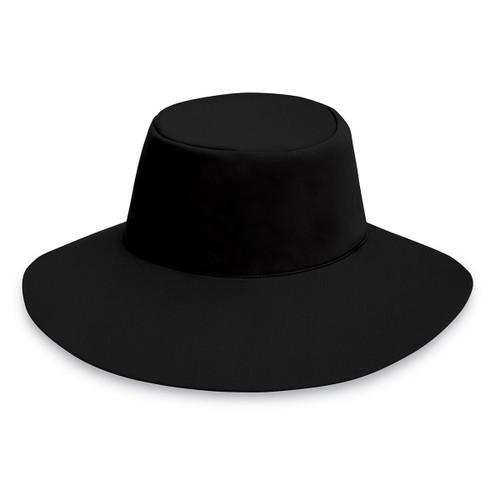21cf2097482 Womens Wallaroo UPF50+ aqua hat black