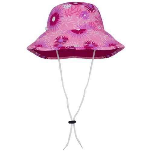 Tuga girls reversible UV bucket hat carnation