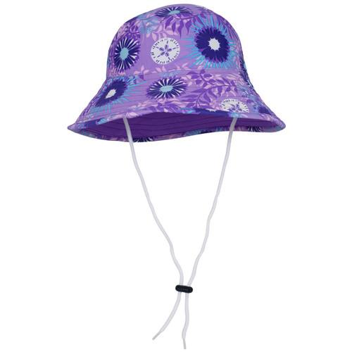 Girls Wallaroo Iris UV reversible bucket hat