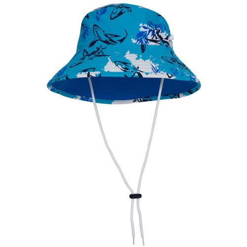 Boys Tuga UV bucket hat laguna