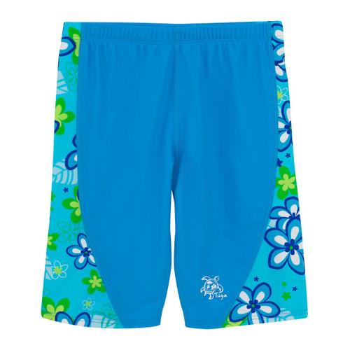 Tuga Girls UV Swim jammer shorts aquamarine