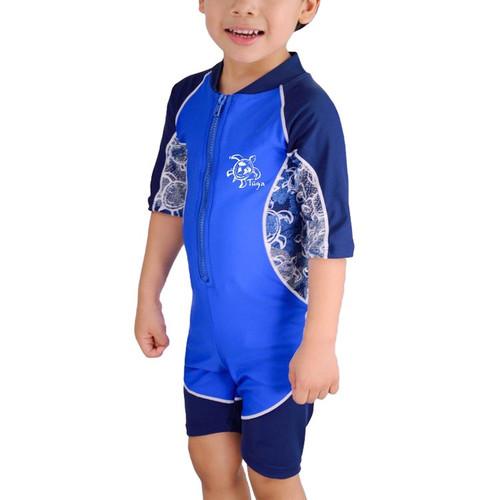 Boys Tuga UV swim suit lapis
